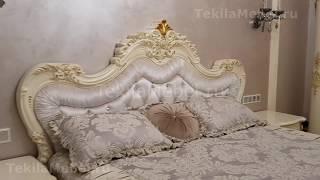 Спальный гарнитур в классическом стиле Элиана. Обзор.