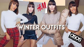 HUGE WINTER ASOS AND H&M HAUL & TRY ON. DECEMBER WINTER OUTFITS - HIGH STREET FASHION | Blaise Dyer