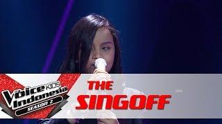 "Putri ""Somebody To Love"" | Sing Off | The Voice Kids Indonesia Season 2 GTV 2017"