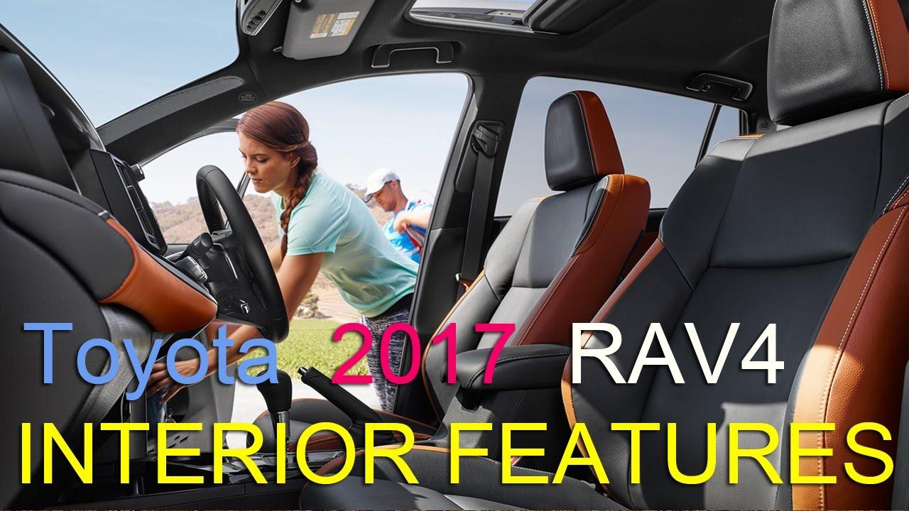 Toyota Rav4 2017 Interior Features