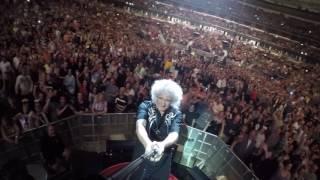 Selfie Stick Video | Chicago, USA [July 13, 2017] Queen + Adam Lambert