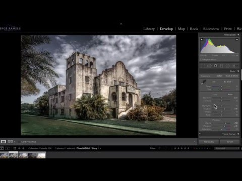 Creating Dramatic HDR Without a Tripod - PLP #104 by Serge Ramelli