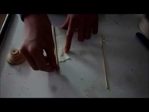Πως να φτιάξετε ξύλινη σβούρα - Handmade spinning top
