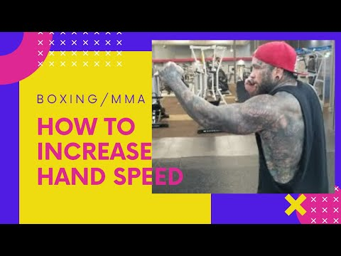How To Increase Hand Speed(Boxing/MMA)