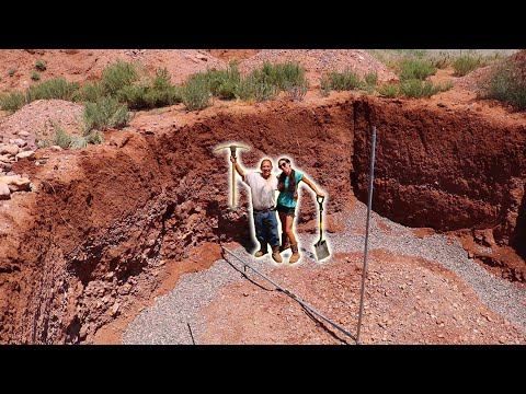 we're-building-an-earthbag-root-cellar-|-laying-an-earthbag-foundation