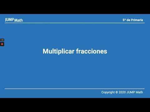5. Unidad 5. Multiplicar fracciones