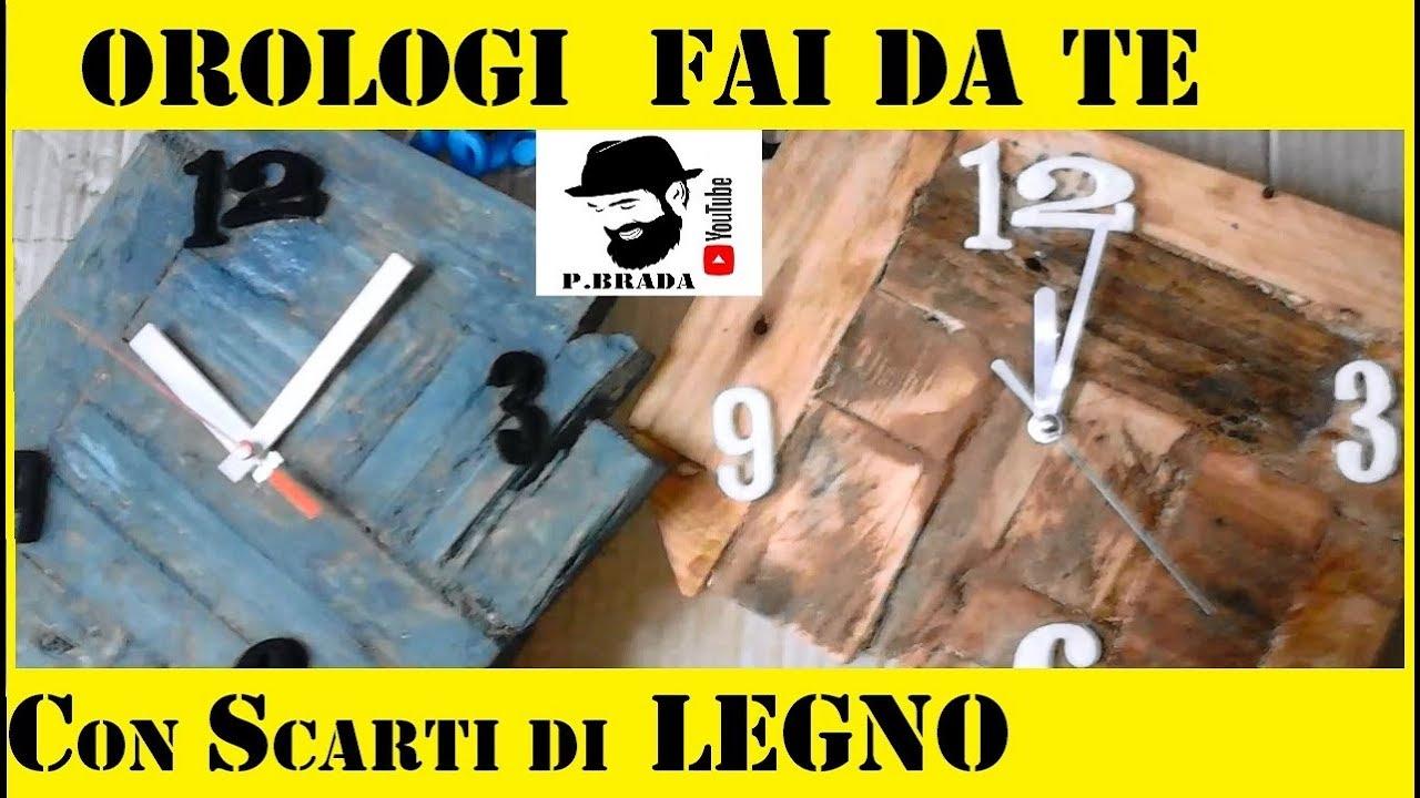 Creare Orologi Fai Da Te Con Gli Scarti Del Legno By Paolo Brada Diy