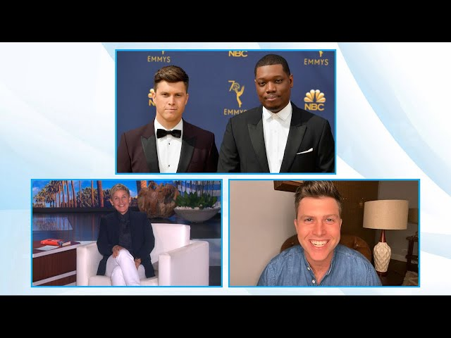 Colin Jost & Scarlett Johnasson Are Concerned About Their Wedding Present from Michael Che