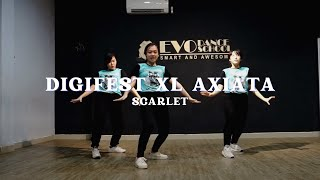 SCARLET Pharrell Williams Crave and Bruno Mars Finesse Dance Cover DIGIFEST XL AXIATA