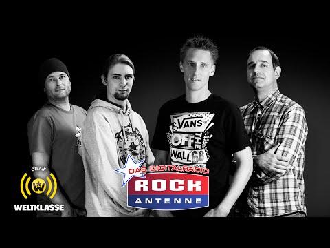 WELTKLASSE bei Radio ROCK ANTENNE in Bayern