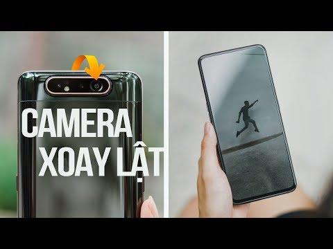 Samsung Galaxy A80: Camera Xoay Lật làm được gì hay?