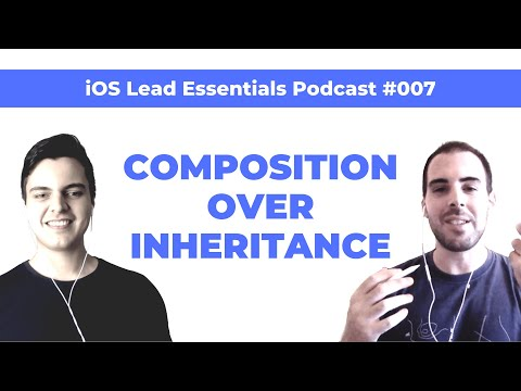 Composition in iOS/Swift: A key element of clean app architecture | iOS Lead Essentials Podcast #007 thumbnail