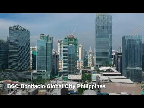 BGC Bonifacio Global City Philippines Aerial view