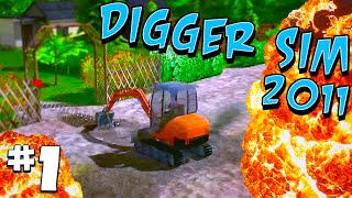 Trucking Tuesday: Digger-Simulator 2011 #1 - Monostril
