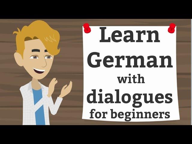 Online Deutsch lernen | Einfache Dialoge üben | Teil 3 | Grammatik und Wortschatz