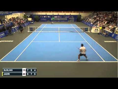 Sijsling I. 1-2 Jaziri M.-finale Rennes Challenger 2015