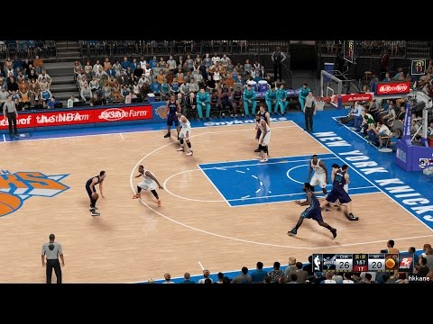 NBA 2K16 Charlotte Hornets Vs New York Knicks 17-11-2015