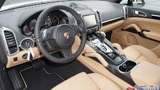 2014 Porsche Cayenne Diesel (двухцветный интерьер). Тест драйв 2014 Порш Каен Дизель. Авто из США(2014 Porsche Cayenne Diesel Platinum. Новый Порш Каен Дизель цена и технические характеристики. Порш Каен Дизель Платинум..., 2014-05-08T14:16:17.000Z)