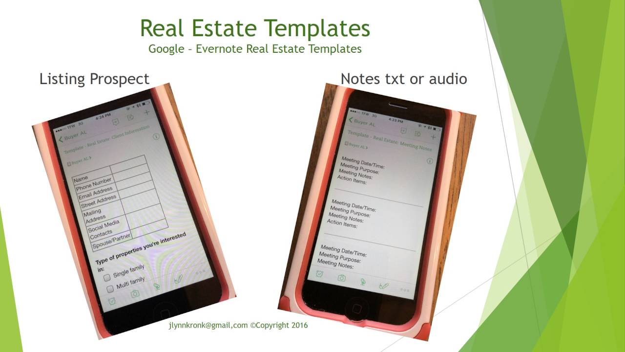 Evernote Features For The Real Estate Professional