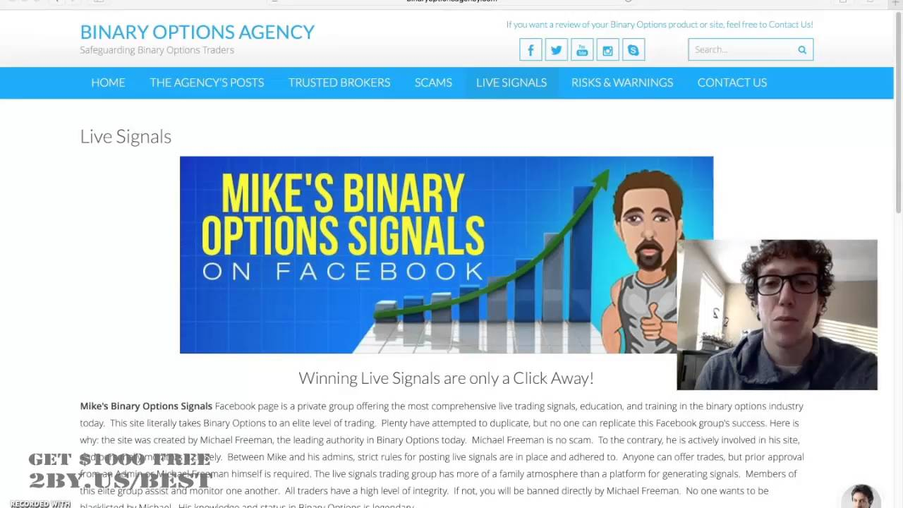 Binary options update
