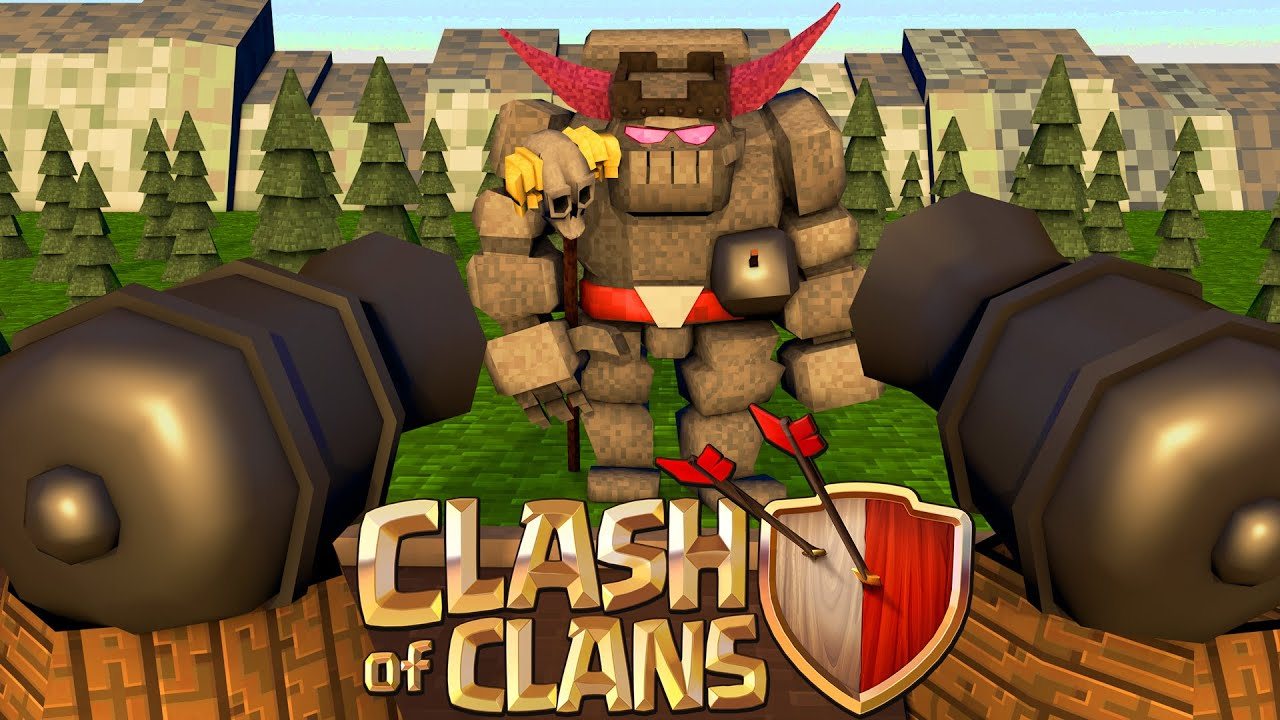 Minecraft Clash Of Clans Nations   A Clash Fortress Youtube