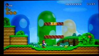 New Super Mario Bros. Wii world 1-3  Alternate Exit