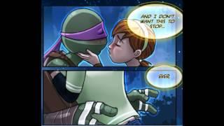 Tmnt 2012 April And Donnie Comic Apritello Parte 2