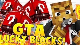 GTA LUCKY BLOCK MOD CHALLENGE 2vs2 PVP | Minecraft - Lucky Block Mod