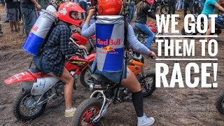 Woodsman Cup 2016 | Racing Street Bikes In the Dirt!