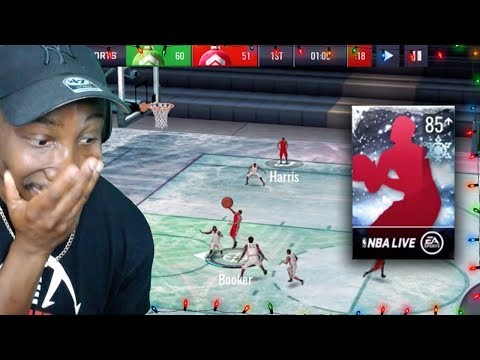 FROZEN ICE COURT & NORTH POLE PACK OPENING! NBA Live Mobile 19 Season 3 Ep. 29