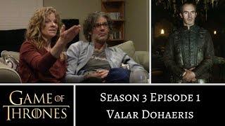 Game of Thrones S03E01 Valar Dohaeris REACTION