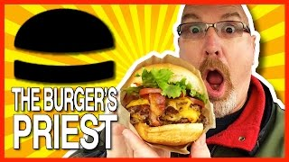 Bacon Double Cheeseburger From The Burgers Priest With Deep Fried Jalapeño