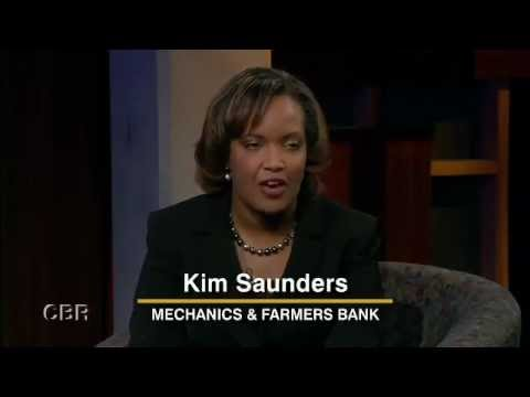 Kim D. Saunders, Mechanics and Farmers Bank