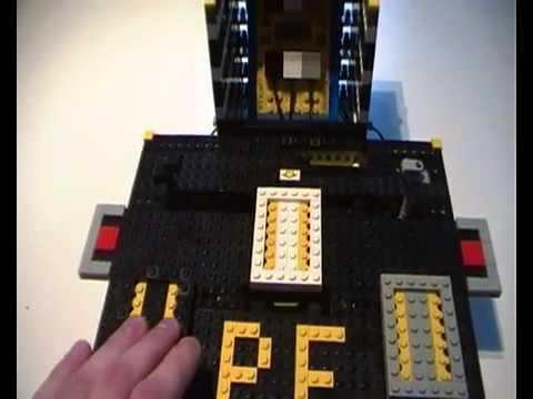Lego Mindstorms RCX - Arcade game - LASM (Assembler)