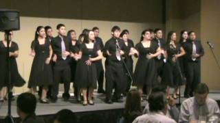 McAllen ISD Rowe High School Show Choir, Razz-Ma-Tazz performs at a...