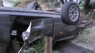 ДТП в Запорожье 15.08.17. Ford перевернулся