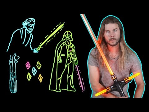 How Lightsaber Color Tells Us What They're Really Made of! (Because Science w/ Kyle Hill)