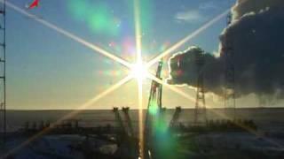 Пуск РН Союз-У с ТГК Прогресс М-04М. Soyuz-U/Progress M-04M.