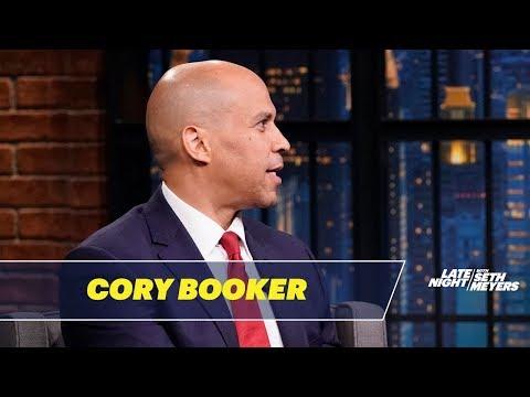 Cory Booker Calls Trump 'Elderly, Weak Specimen,' Rejects Testosterone Urge to Punch President