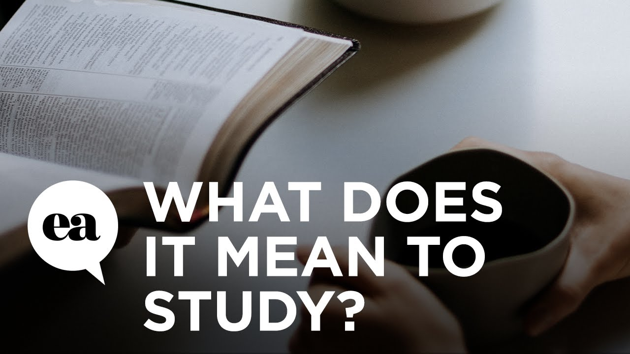 What Does It Mean to Study? | How to Study the Bible with Joyce Meyer