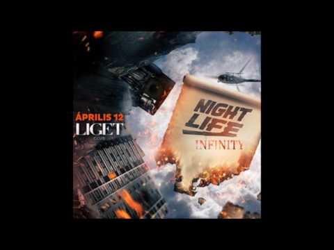 """Dj Szecsei- 2017.04.12. - Szecsei b2b Jackwell - NIGHTLIFE """"INFINITY"""" - LIGET Club, Budapest"""
