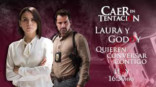 ¡Conversa en vivo con Laura y Fernando Godoy de Caer en Tentación!