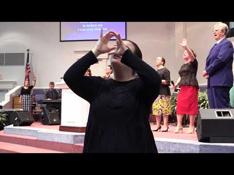 """Anointed Weakness"" sign language interpreted sermon 9/3/17"