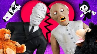 LP Movie: GRANNY IS CHEATING ON A SLENDERMAN!