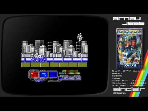 SLY SPY: Secret Agent Zx Spectrum by OCEAN