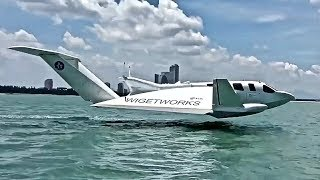 Amazing Flying Boat - Future of Sea Travel