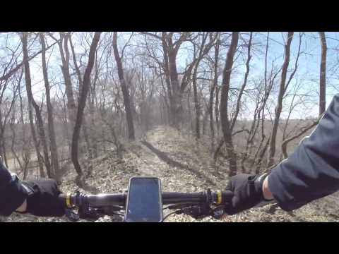 Hennepin Canal Singltrack Trails - Sterling to 6 miles south 20150321