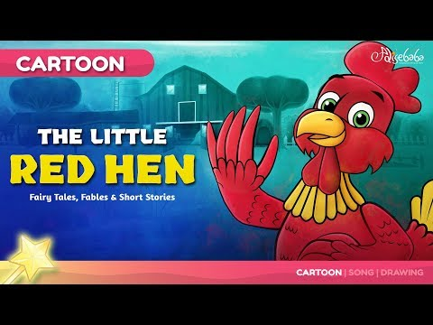 The Little Red Hen Fairy Tales and Bedtime Stories for Kids in English