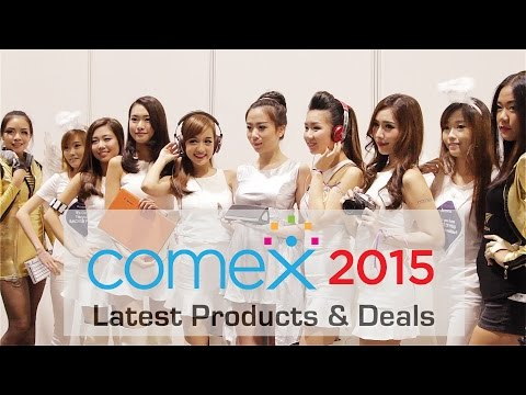 Comex 2015 - Latest Products & Deals!
