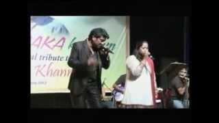 Parbat ke peeche..mehbooba live By David & Jyoti